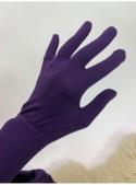 Rukavice s vláknem na ovládání dotykového displeje, fialové