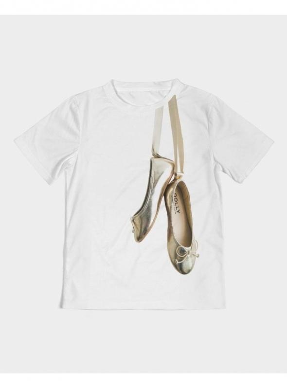 dětské DOLLY tričko Zlaté baleríny