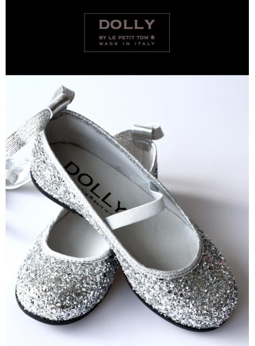 DOLLY ballerina 6GB glitter silver