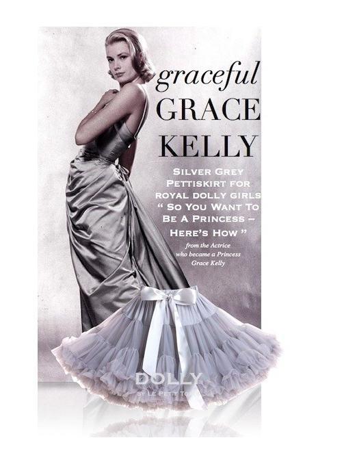 GRACE KELLY  Petti skirt