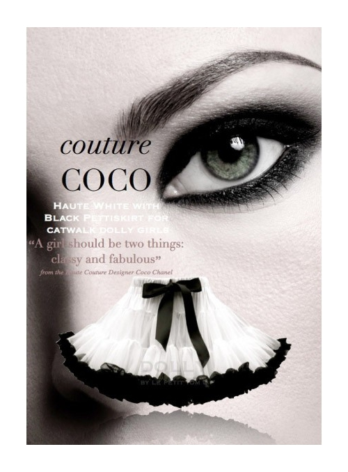 COCO CHANEL DOLLY sukně