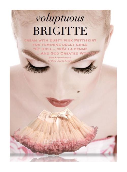 BRIGITTE BARDOT  Petti skirt