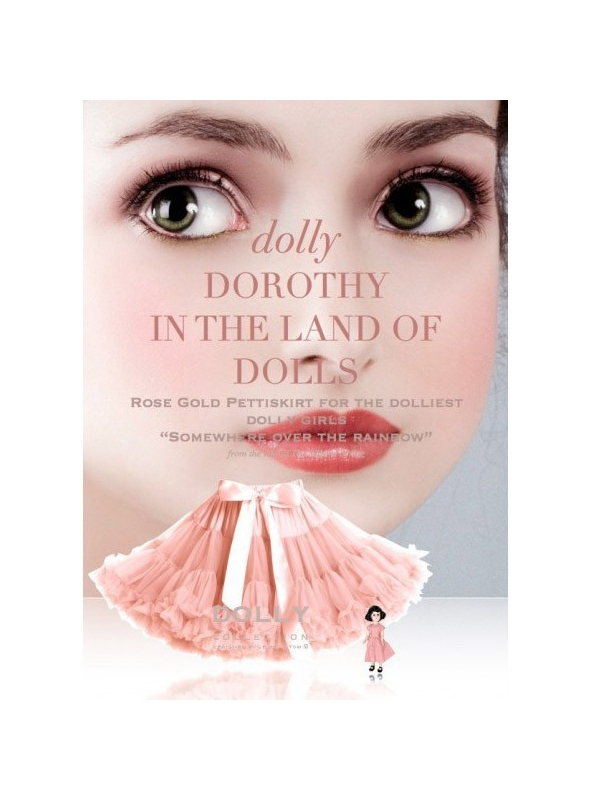 DOROTHY IN THE LAND OF DOLLS Petti skirt
