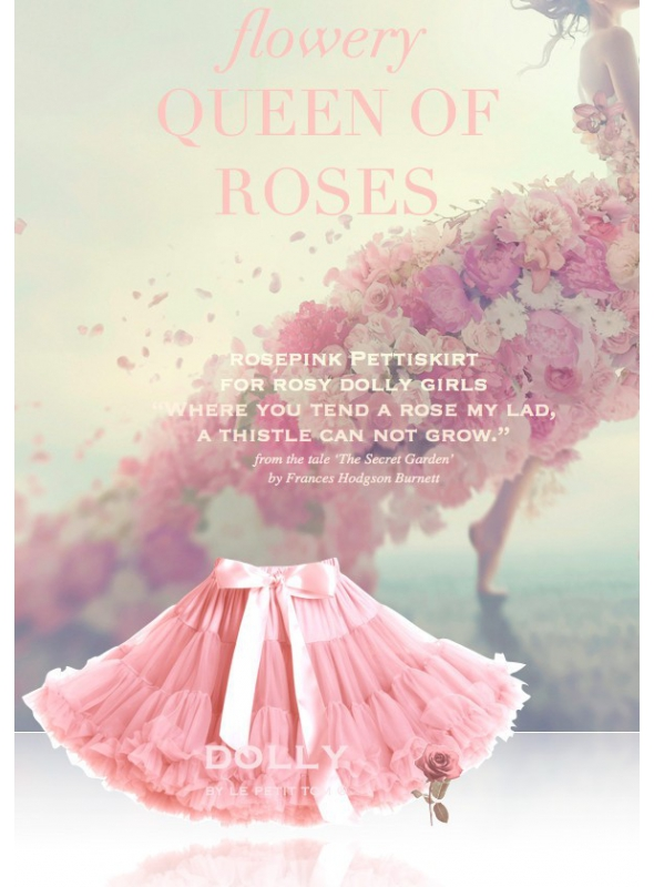 QUEEN OF ROSES petti skirt