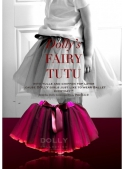 FAIRY TUTU BRIGHT PINK TULLE +RUBY RED CHIFFON TOP