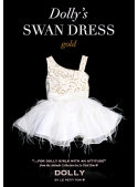 THE SWAN DRESS gold