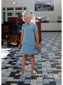 "LA DOLLY dress ""STEWARDESS"" from LINTON TWEED - blue"