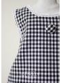 "LA DOLLY ""BB baby dress"" -Black checked"
