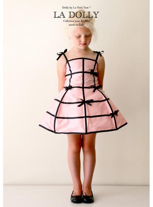 """LA DOLLY """"dress mannequin"""" -pink/black"""