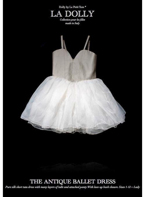 """LA DOLLY hedvábné """"antický šaty""""-krátké"""