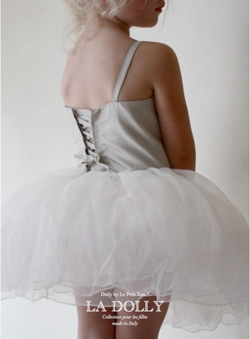 "LA DOLLY silk ""ANCIENT dress"" - short"
