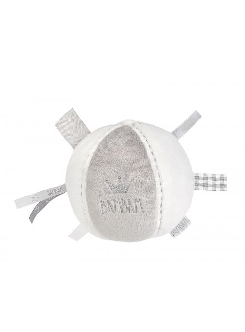 Plyšový míček Bambam – šedý