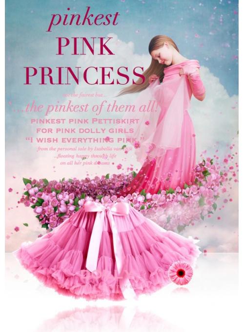 Nerůžovější Růžová princezna petti sukně