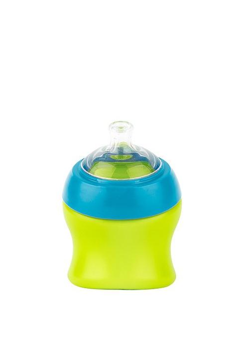 SWIG - malá láhev / pohár modro zelený