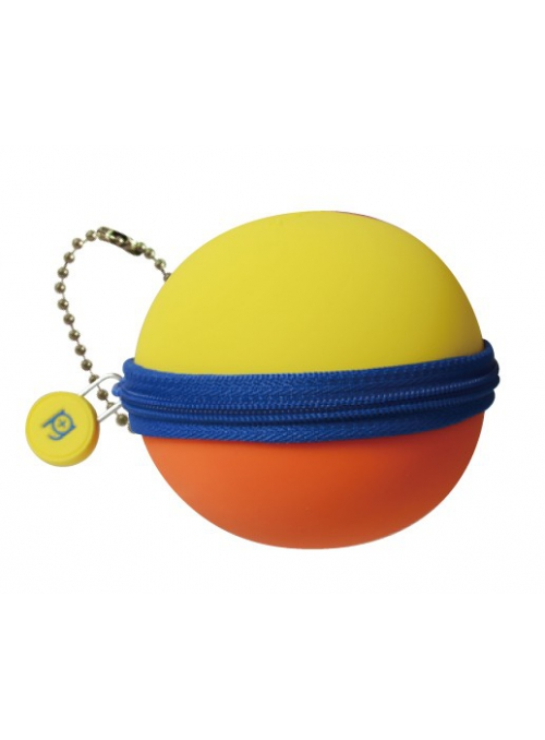 Silikonová kulička žlutá