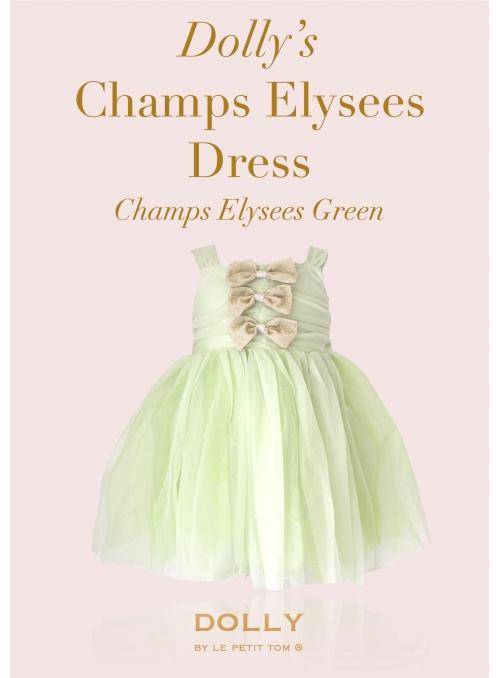 DOLLY šaty Champs Elysees - mentolová zelená