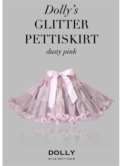 DOLLY třpytivá sukně růžová