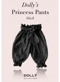 DOLLY princeznovské kalhoty – černé