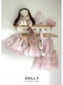 DOLLY sukňa s DOLLY značkovou potlačou – baletná ružová