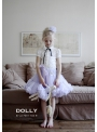 DOLLY top with bow and DOLLY brand labels