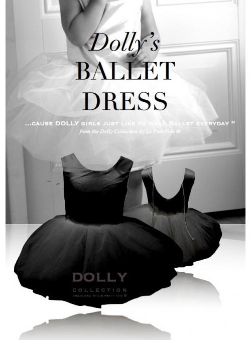 LUXUSNÍ baletní šaty - černé