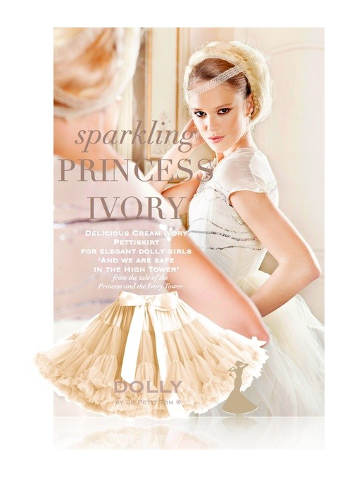 PRINCESS IVORY Petti skirt