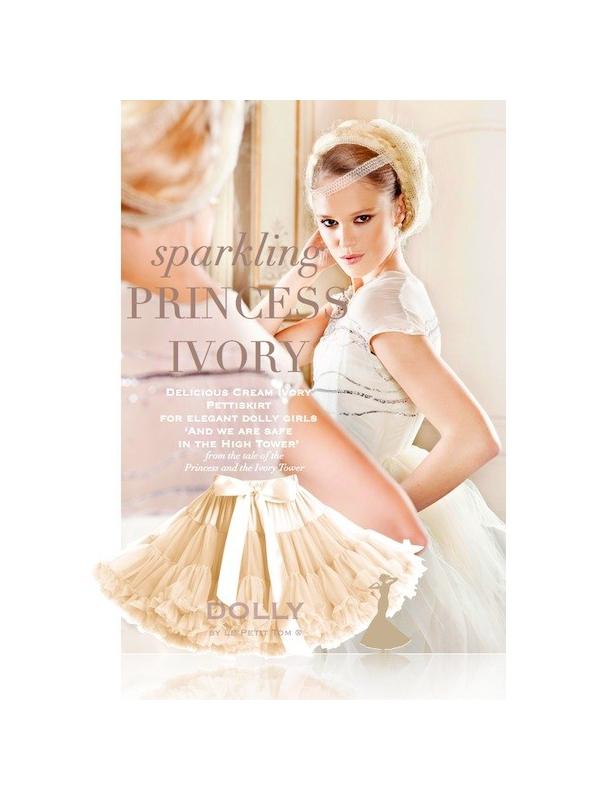 PRINCESS IVORY Petti skirt