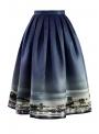 """Midi skirt """"London's Night Life"""""""