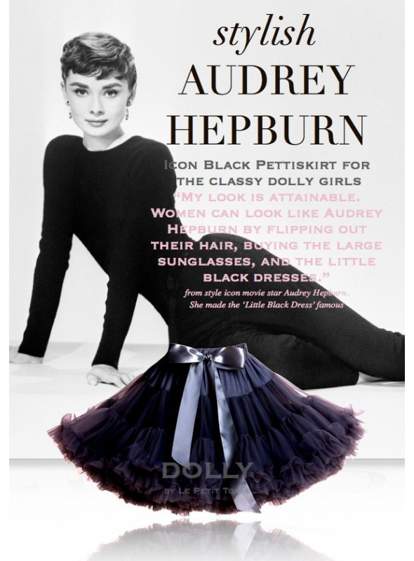 AUDREY HEPBURN DOLLY sukně