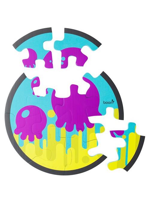 Vodní pěnové puzzle