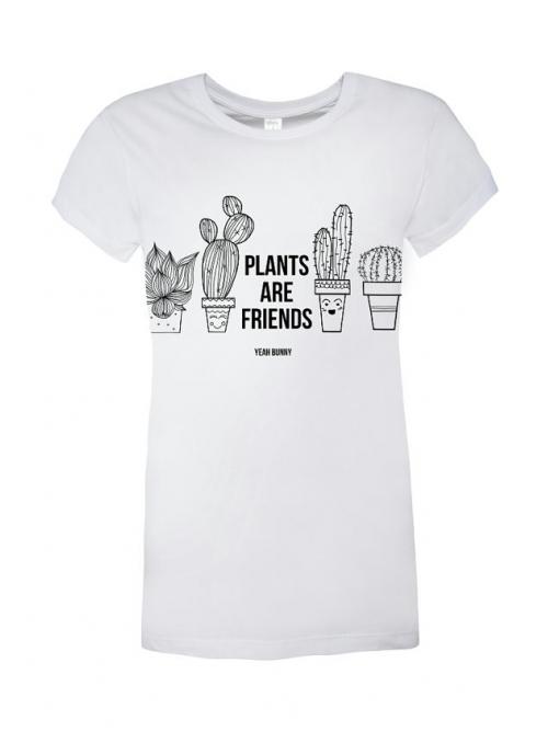 """Tričko – """"Plants are friends"""""""