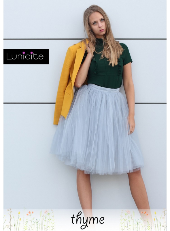 Lunicite THYME – exclusive tulle skirt from herb collection