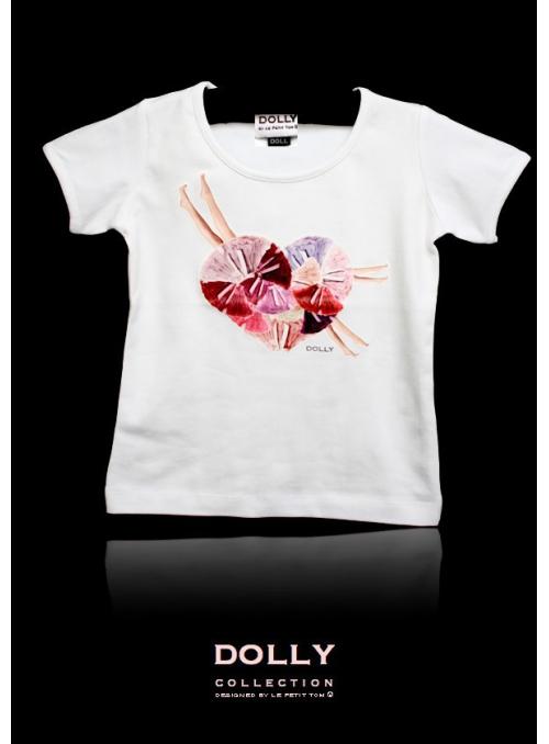"""DOLLY značkové tričko """"PETTISKIRT HEART"""""""