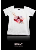 "DOLLY signature T-shirt ""PETTISKIRT HEART"""