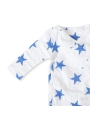 Overall - children's bodysuit with long sleeves - kimono Mariner star Aden & Anais