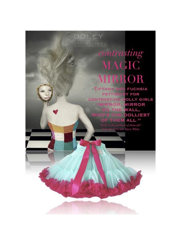 KRÁĽOVNA Čarovného zrkadla dolly sukňa