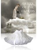 KRÁĽOVNA Oblakov dolly sukňa