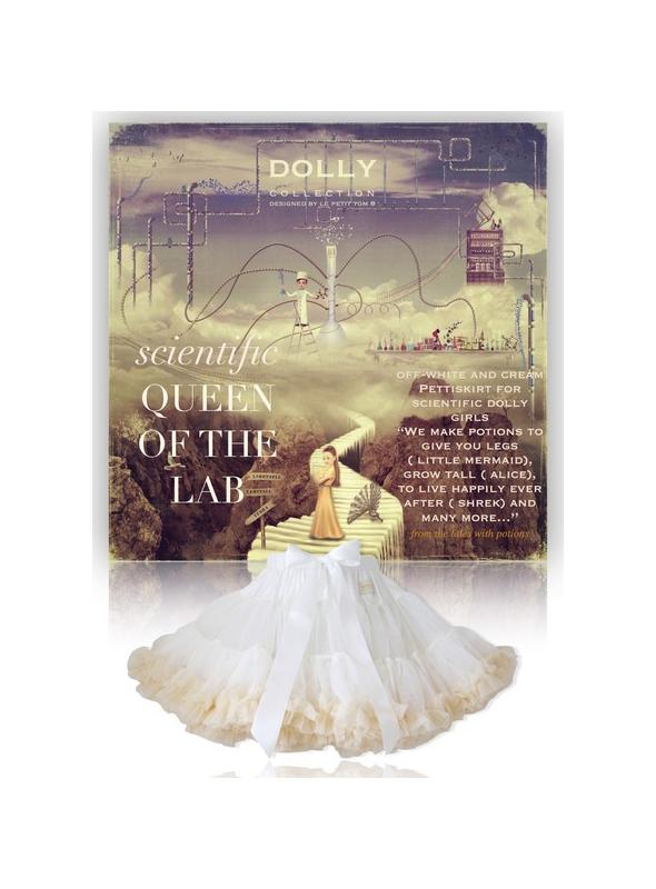 vedátorská Kráľovna laboratória dolly sukňa