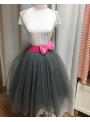 Lunicite SLAMIENKA – exkluzívna tylová sukňa z bylinkovej kolekcie